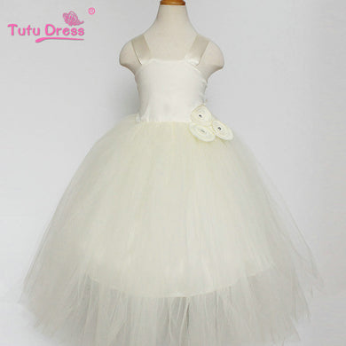 TUTU White Long Tulle Dress