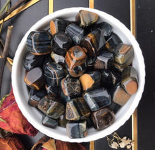 RARE Blue tiger's eye tumbled stones|tumbles crystals|tumbled gemstones|wicca crystal|
