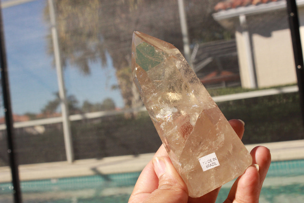 Natural Citrine Point 4
