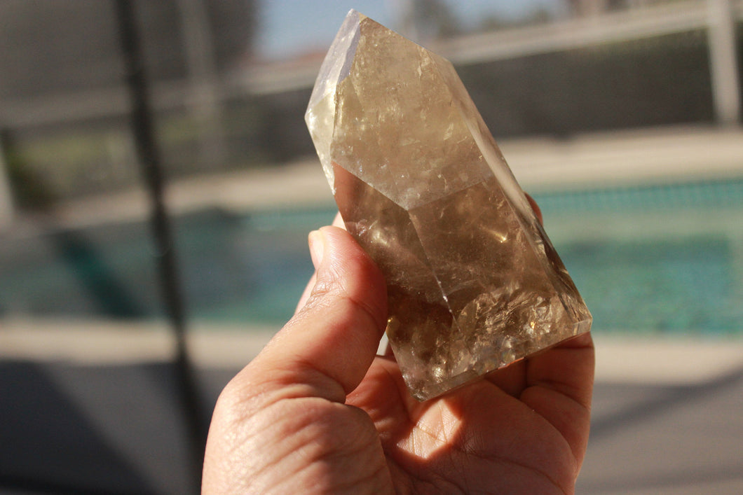 Natural Citrine Point 5