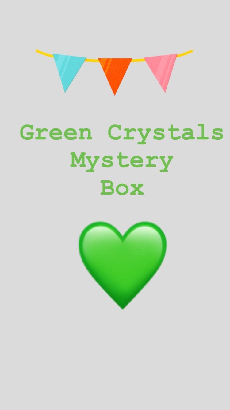 GREEN CRYSTALS Mystery Box