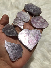 4 pieces Raw Lepidolite Mica Raw 50 grams