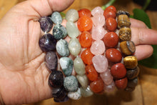 One Natural tumble Stone Bracelet