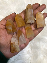 One hematoid quartz point