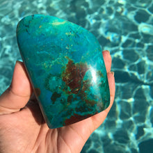 Chrysocolla freeform 2