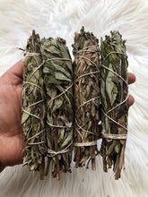 One Lavender Sage Smudge Stick - dried lavender bundle