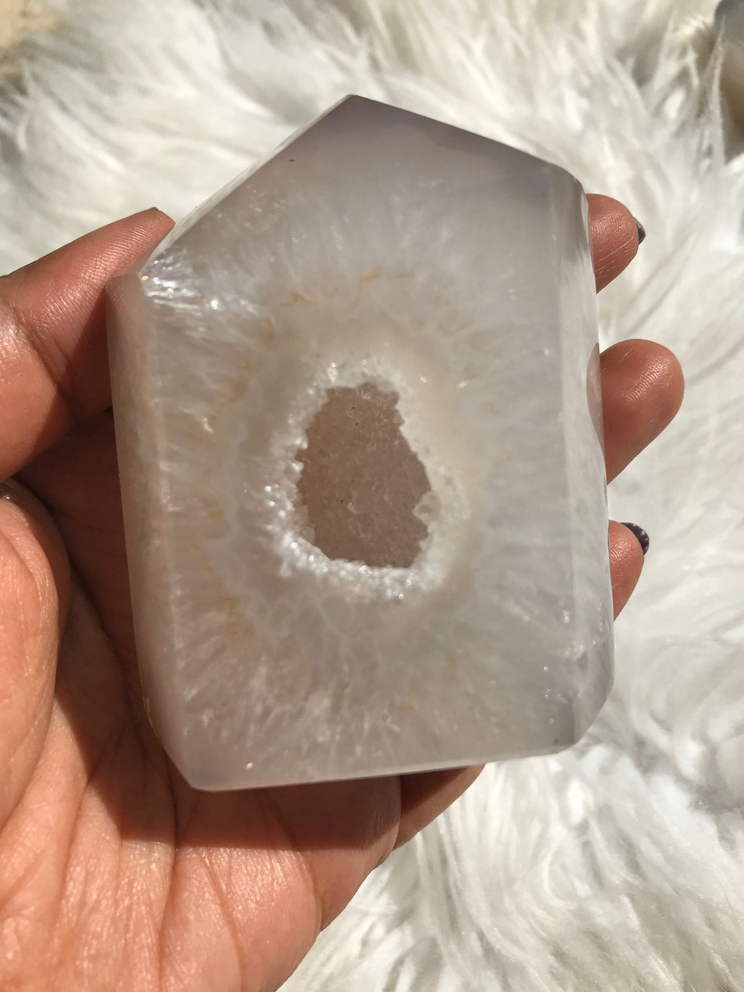 Agate Durzy Point|Geode Point 4