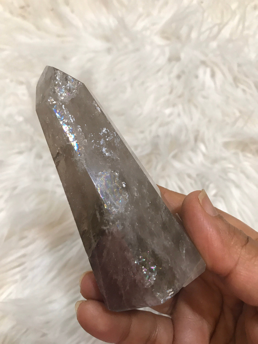 Large Smoky Quartz Point 4