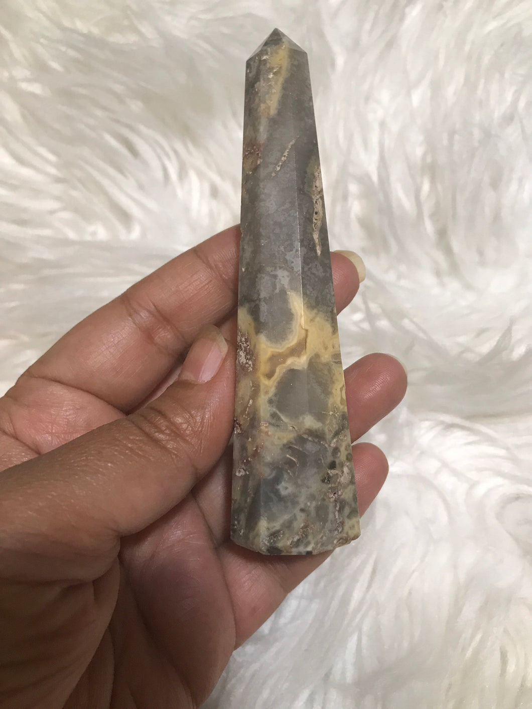 Amazing crazy lace agate