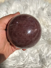Large Strawberry Quartz Sphere 3