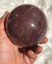 Large Strawberry Quartz Sphere 4