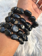 One Shungite Tumble Bracelet 7.5 inches