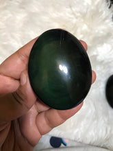 One Rainbow Obsidian Palm Stone 1