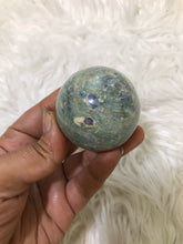45mm Ruby in Fuchsite kyanite Sphere