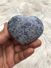 Blue Sodalite Heart -1