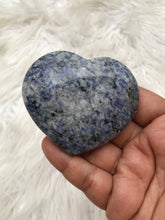 Blue Sodalite Heart -7