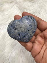 Blue Sodalite Heart -5