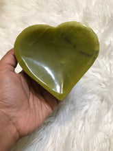 Green Serpentine heart Bowl