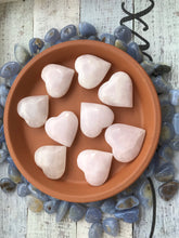 One Pink Calcite heart