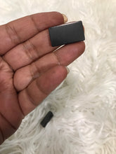 One(1) Shungite  Rectangle Cellphone Plate