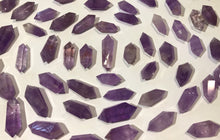 One Gemmy Amethyst  Double Terminated Point less than 2 inches