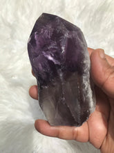 Large Dark Bahia Phantom Amethyst Elestial Tooth 3