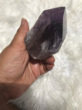Large Dark Bahia Phantom Amethyst Elestial Tooth 5