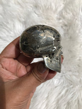 One Of Kind Pyrite Druzy Skull 4