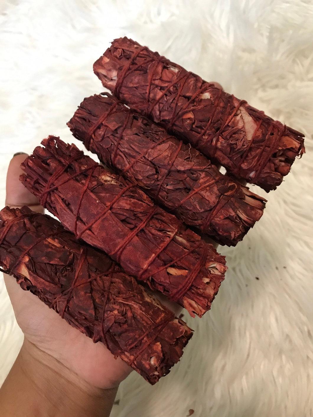 One Dragon's Blood Sage Smudge Stick