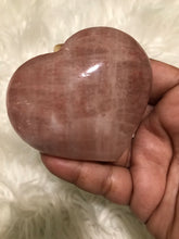 One Large Rose Calcite Heart 5