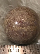New found !!!Pink Jasper sphere 50mm