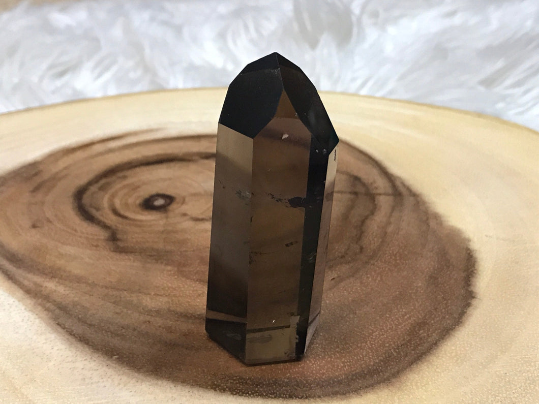 Perfect high quality Smoky Quartz Point 4