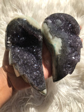 Amethyst Druzy Angel Wing Pair 8- Christmas Gift