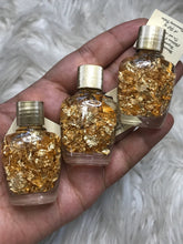 One 24k Real Gold Flakes in Bottle
