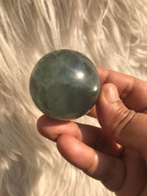 High Quality Rare Blue fluorite Sphere 6