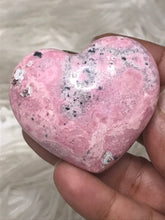 One 54mm Peru Rhodonite Heart