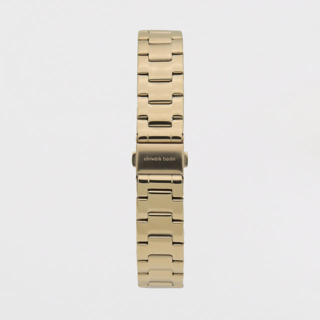 18mm Strap - Gold Linked