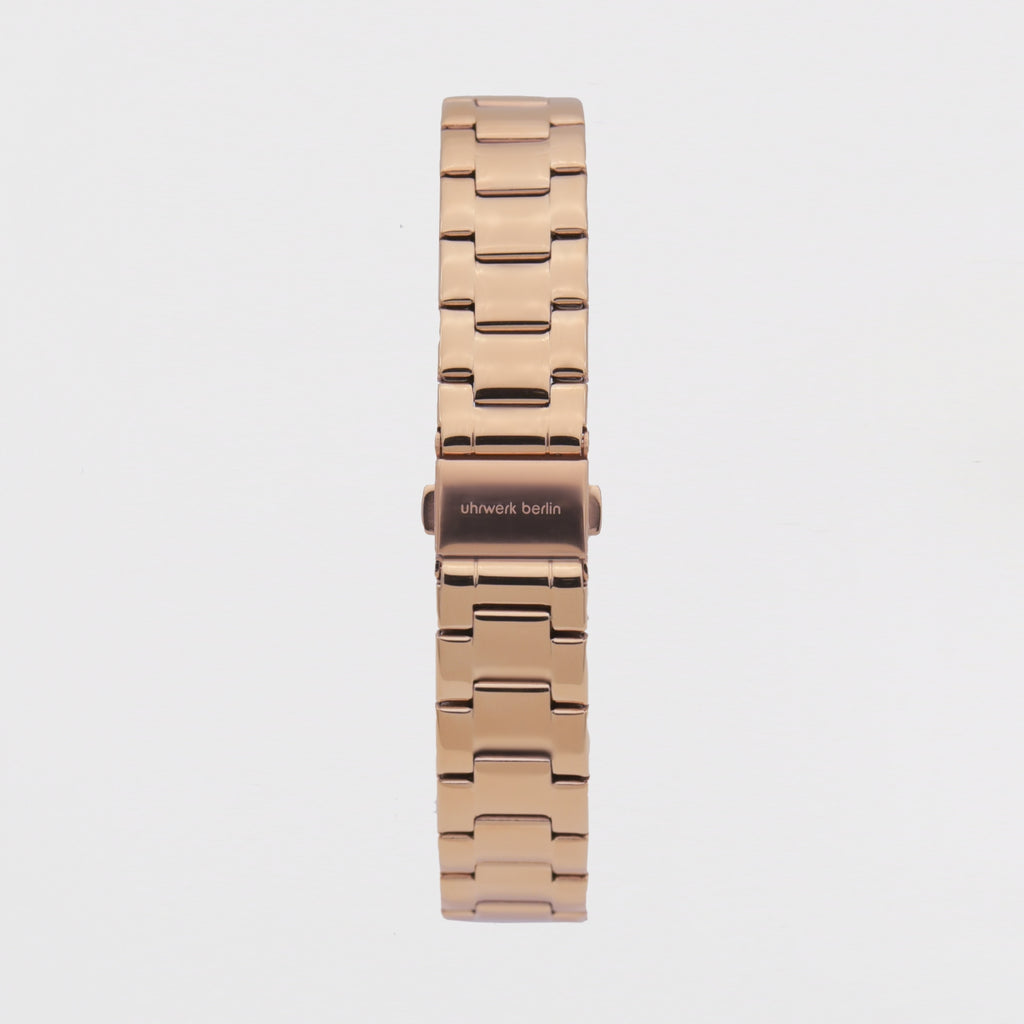 18mm Strap - Rose Gold Linked