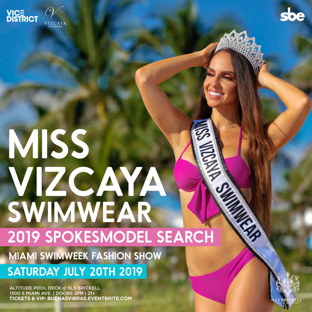 Miss Vizcaya Swimwear 2019