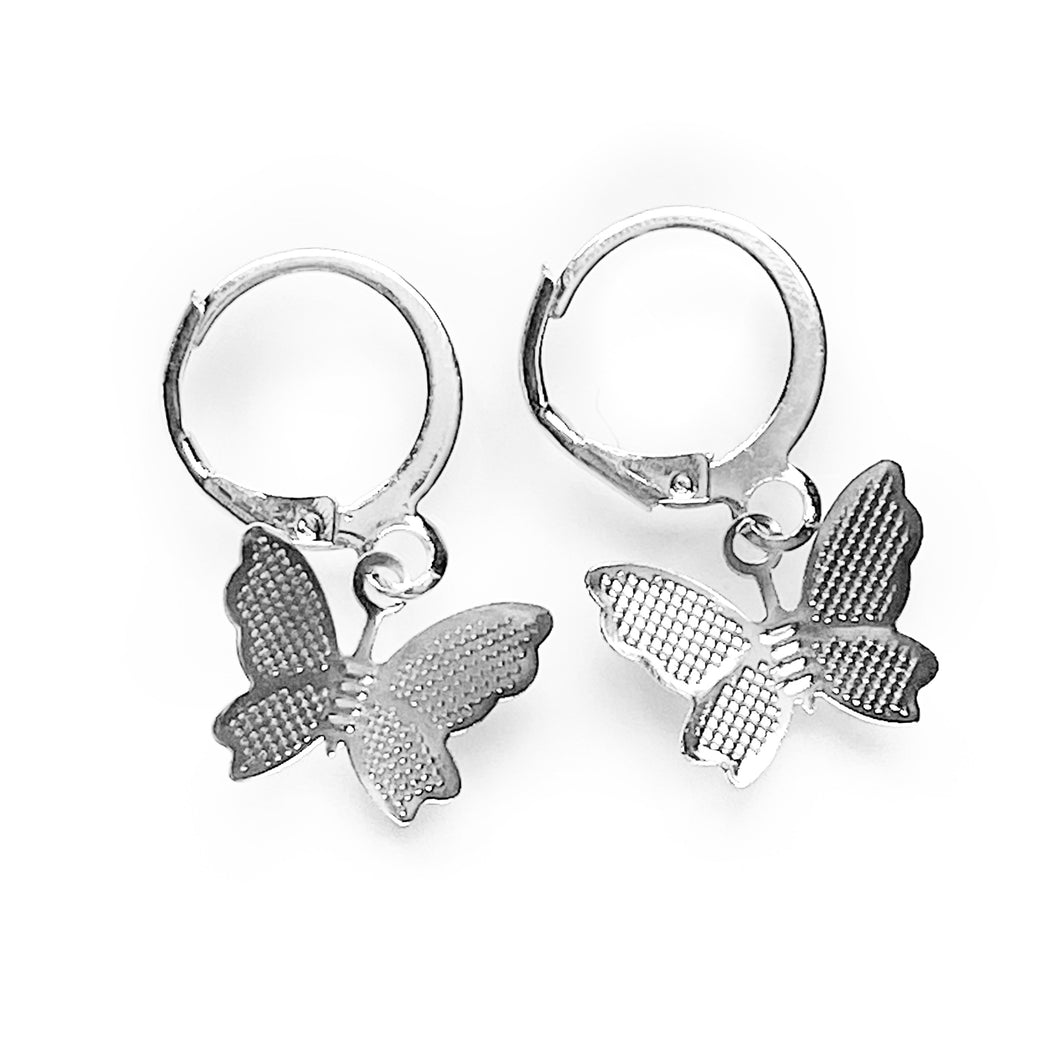 Dainty Butterfly Earrings