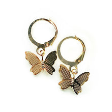 Load image into Gallery viewer, Dainty Butterfly Earrings