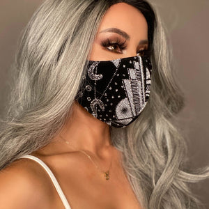 Marrero Collection: Rich Girl Designer Face Mask