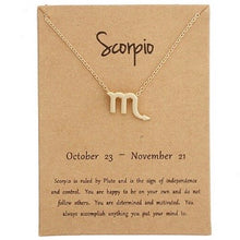 Load image into Gallery viewer, Zodiac Pendant - Scorpio