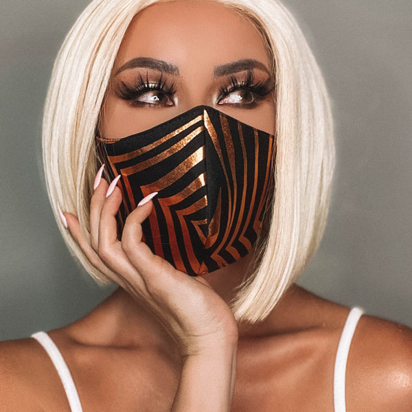 Marrero Collection: Tiger Queen Designer Face Mask