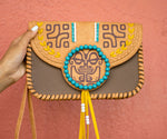 ADYLOA LEATHER CLUTCH