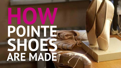 How pointe shoes are made