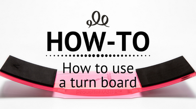 How to use a turn board