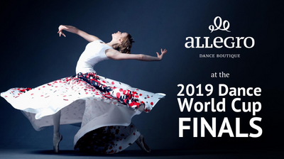 Allegro Dance Boutique at the 2019 Dance World Cup Finals