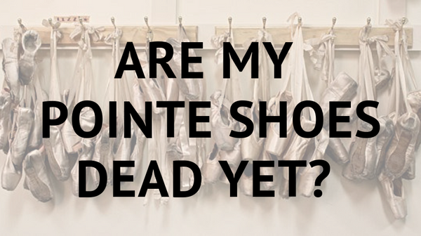 dead pointe shoes