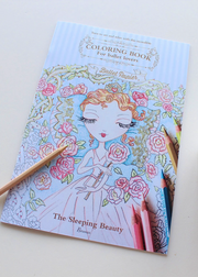 Sleeping Beauty Colouring Book